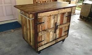 Wooden Pallet Kitchen Island Table 101 Pallets