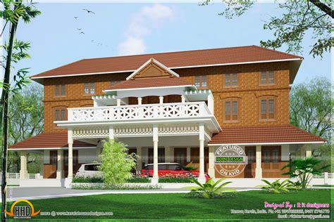Traditional luxury house in Kerala - Kerala home design