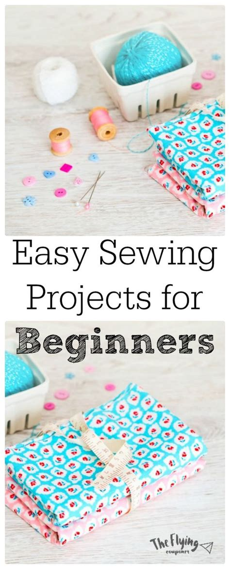 easy sewing projects  beginners diy craft ideas
