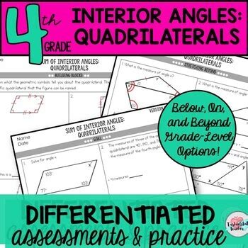 quadrilateral worksheet high school escolagersonalvesgui