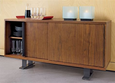 Saga Credenza Cb2  Modern  Buffets And Sideboards  By Cb2
