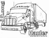 Coloring Dump Truck sketch template