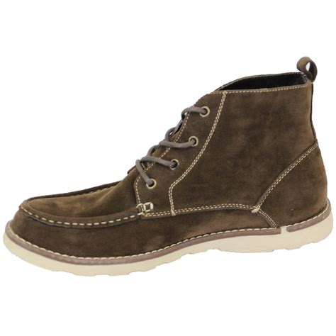 mens designer boots mens boots high ankle top suede look chukka desert shoes