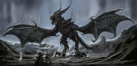 Alduin Top Video Games Artwork