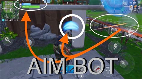 auto fireaim bot  broken fortnite mobile youtube