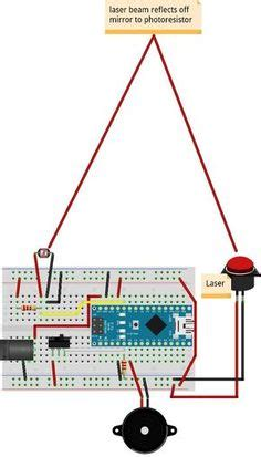 Laser Security Alarm Circuit Diagram Electronic Circuits