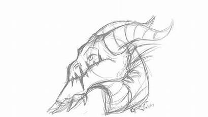 Dragon Head Sketch Weasyl Report