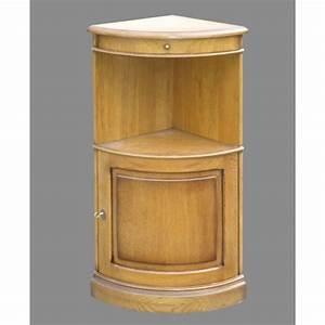 Meuble D Angle Chambre : meuble d 39 angle quart de cercle meubles de normandie ~ Teatrodelosmanantiales.com Idées de Décoration
