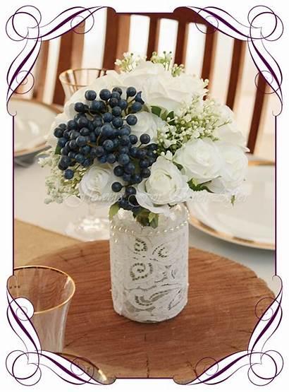 Table Jar Skye Flowers Centrepiece Options Posy