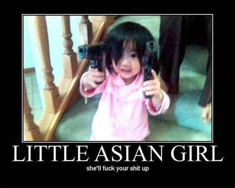 Asian Woman Meme - little asian girl demotivational posters funny picture