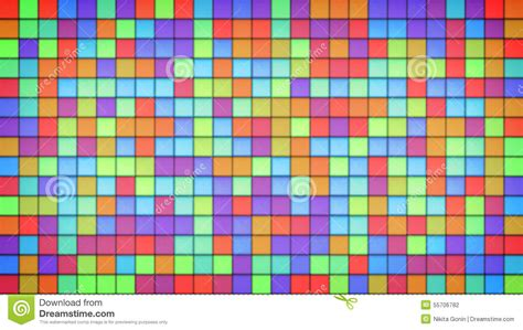 bright multicolor tiles glass mosaic background stock