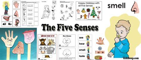 senses preschool activities lessons