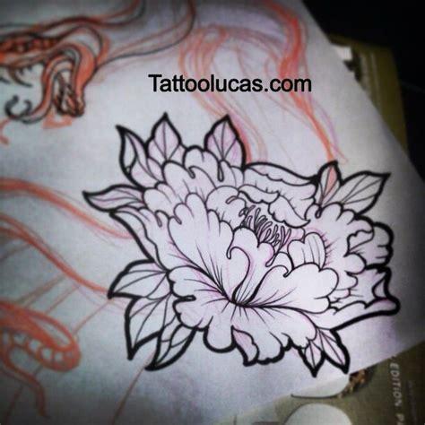 japanese peony flower tattoo design tattoo ideas