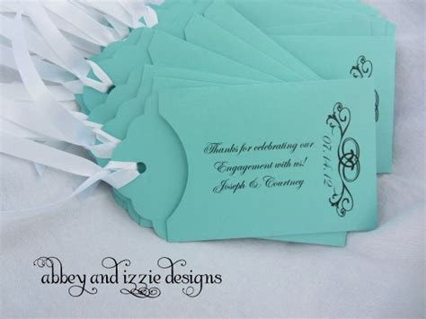 personalized lottery ticket holder engagement party