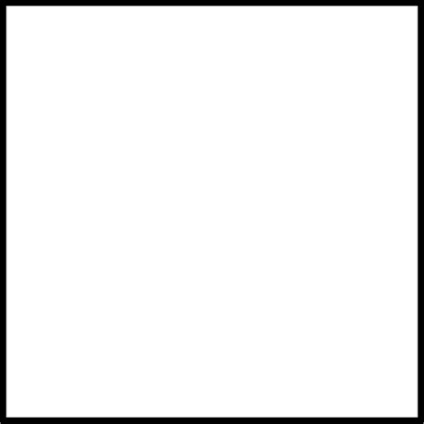 square clipart black and white black and white square clipart clipart suggest