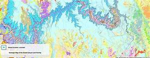 Interactive Geologic Map Of Grand Canyon