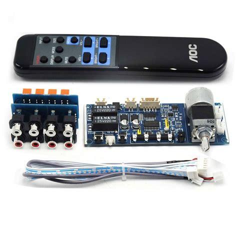 Remote Volume Potentiometer Audio Signal For Diy Amplifier