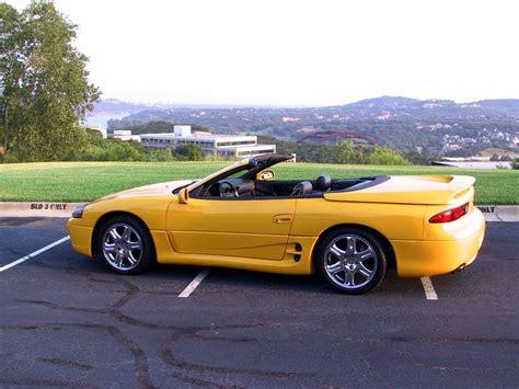 mitsubishi 3000gt yellow 1995 mitsubishi 3000gt vr4 spyder jd 02