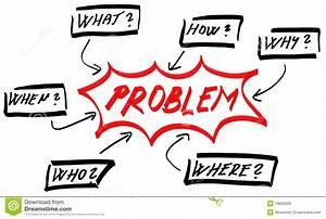 Problem Solving Diagram Stock Illustration  Illustration
