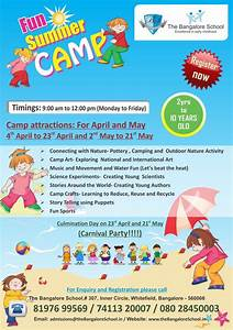 Fun Summer Camp, Whitefield, Bangalore