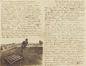 vincent van gogh39s letters on display in amsterdam art With vincent van gogh letters book