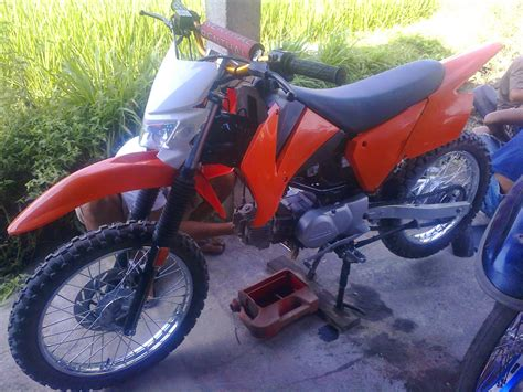 Jual Motor Modifikasi Trail by 85 Modifikasi Motor Honda Win Menjadi Trail Modifikasi Trail