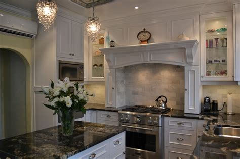 White Victorian Kitchen   Traditional   Kitchen   Toronto