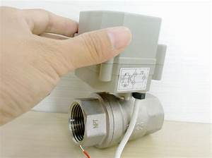 Electric Ball Valve For Water Treatment U0026
