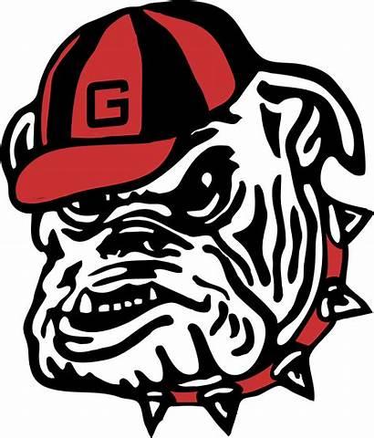 Georgia Clipart Bulldog Dog Bull Ga Transparent