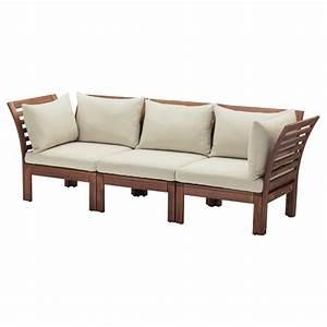 applaro canape 3 places exterieur teinte brun hallo beige With canapé exterieur 3 places