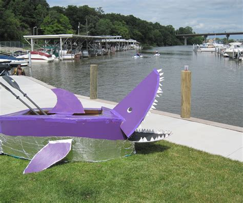 Cardboard Boat Basics by Make A Cardboard Boat 7 Steps With Pictures