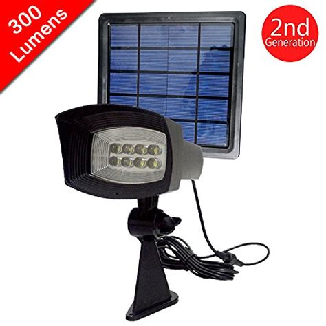 how many lumens for outdoor security light 300 lumen output hkyh solar spotlight wall light