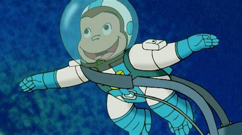 curious george grease monkeys  space kids cartoon