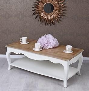 Beistelltisch Weiß Vintage : rustikaler couchtisch landhausstil shabby vintage weiss ebay ~ Yasmunasinghe.com Haus und Dekorationen
