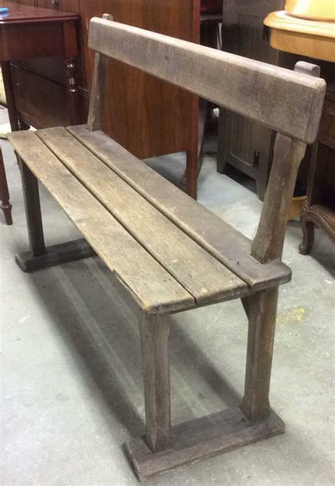 Antique Teak Bench - antique teak wood park style bench bench