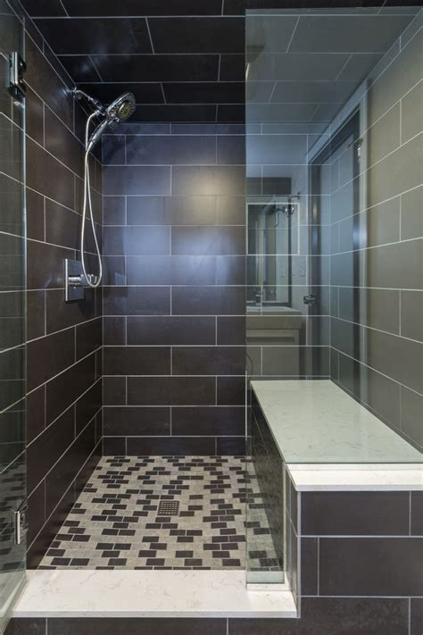 basement bath remodel   space challenged