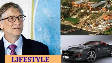 BILL GATES - LIFESTYLE , HOUSE , FAMILY , CARS , NETWORTH ...