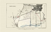 Other Wars   CHAPULTEPEC BATTLE MAP 1 OF 3 BY CHURCH NEWS ...