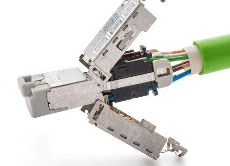 industrial rj ethernet connectors te connectivity