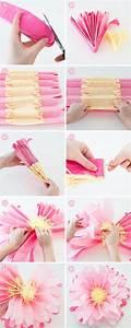 Papierblumen Aus Servietten : die 25 besten ideen zu papierblumen auf pinterest servietten dekorationen taschentuch poms ~ Yasmunasinghe.com Haus und Dekorationen