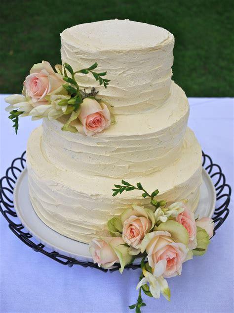 Vintage Buttercream Wedding Cake Finally A