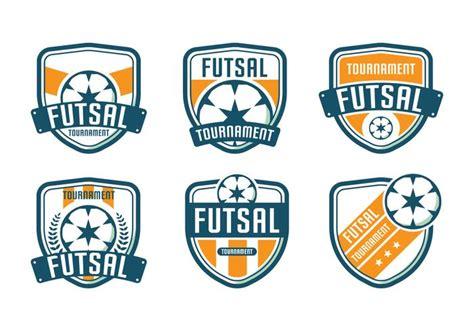 torneo de logo de futsal descargar vectores gratis
