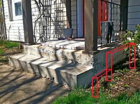 building trex porch concrete porch with pictures