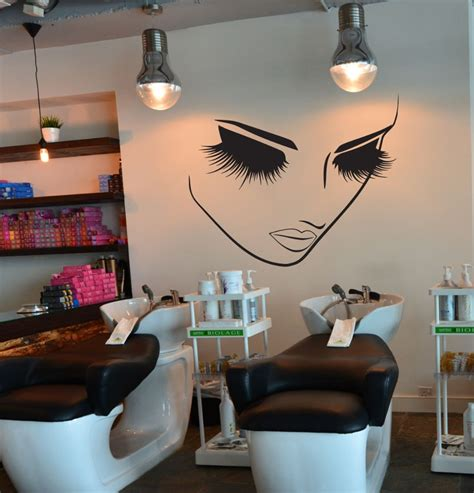 salon decor ideas pics removable fashion home decor vinyl wall decals sticker