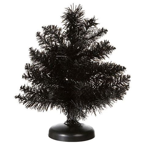 tinsel mini tree black target australia