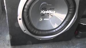 12 Inch Sony Xplod Subwoofer 1200 Watts And 760 Watt