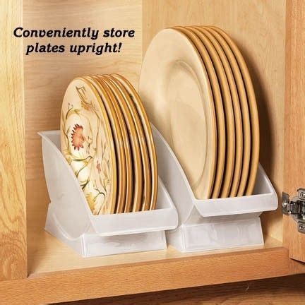 plate cradles  plate storage   max organizers