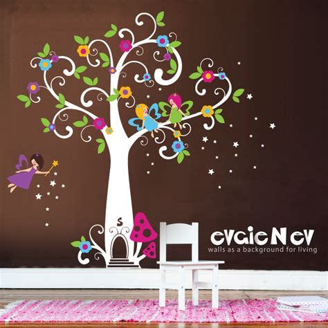 stickers arbre chambre fille wall decals wall decals tree with