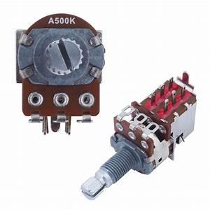 Lindo Coil Split Push Pull Potentiometer A500k Logarithmic Volume