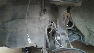 Front Drivers Side Abs Sensor Wire Connection